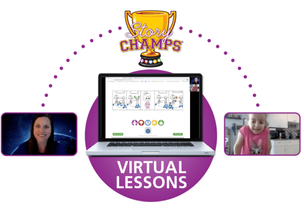 Story Champs Virtual Lessons